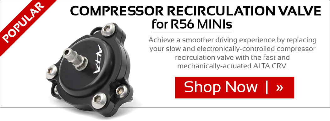 Compressor Recirculation Valve for R56 MINIs