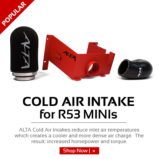 Cold Air Intake for R53 MINIs