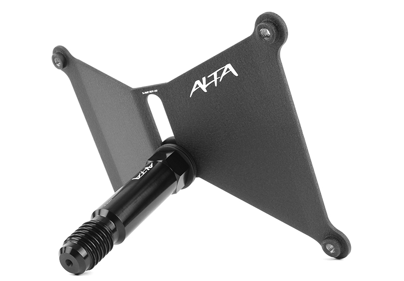 ALTA Performance - Front License Plate Relocate Kit for Mk7 GTI