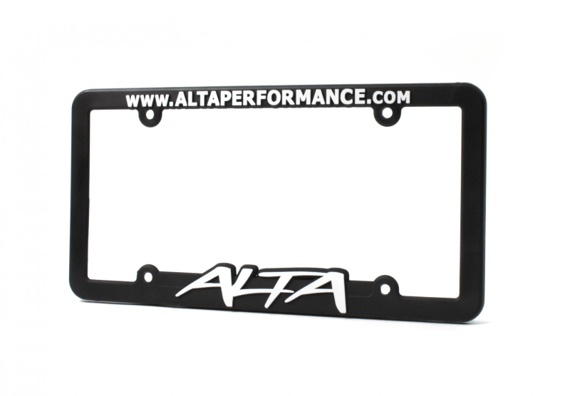 ALTA Performance - License Plate Frame w/ ALTA Logo