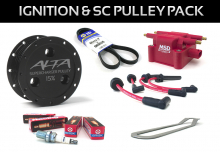 1st Generation 2002-2006 - Pulleys - ALTA Performance - MINI Cooper S Ignition & 15% or 17% S.C. Pulley Pack