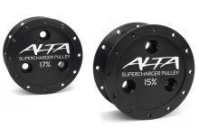 ALTA Performance - Supercharger Pulley 15% and 17% Reduction