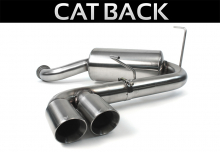 ALTA Performance - Cat-Back Exhaust for R53 Supercharged Engine