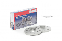 1st Generation 2002-2006 - Wheels / Wheel Spacers - H&R - H&R 15mm Wheel Spacers for 4 Lug MINIs