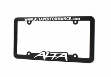 1st Generation 2002-2006 - Exterior / Body - ALTA Performance - License Plate Frame w/ ALTA Logo