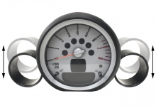 ALTA Performance - Gauge Pod (Single) for R56 Turbo Engines - Image 7