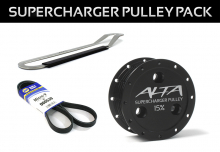 1st Generation 2002-2006 - Pulleys - ALTA Performance - Supercharger Pulley Pack